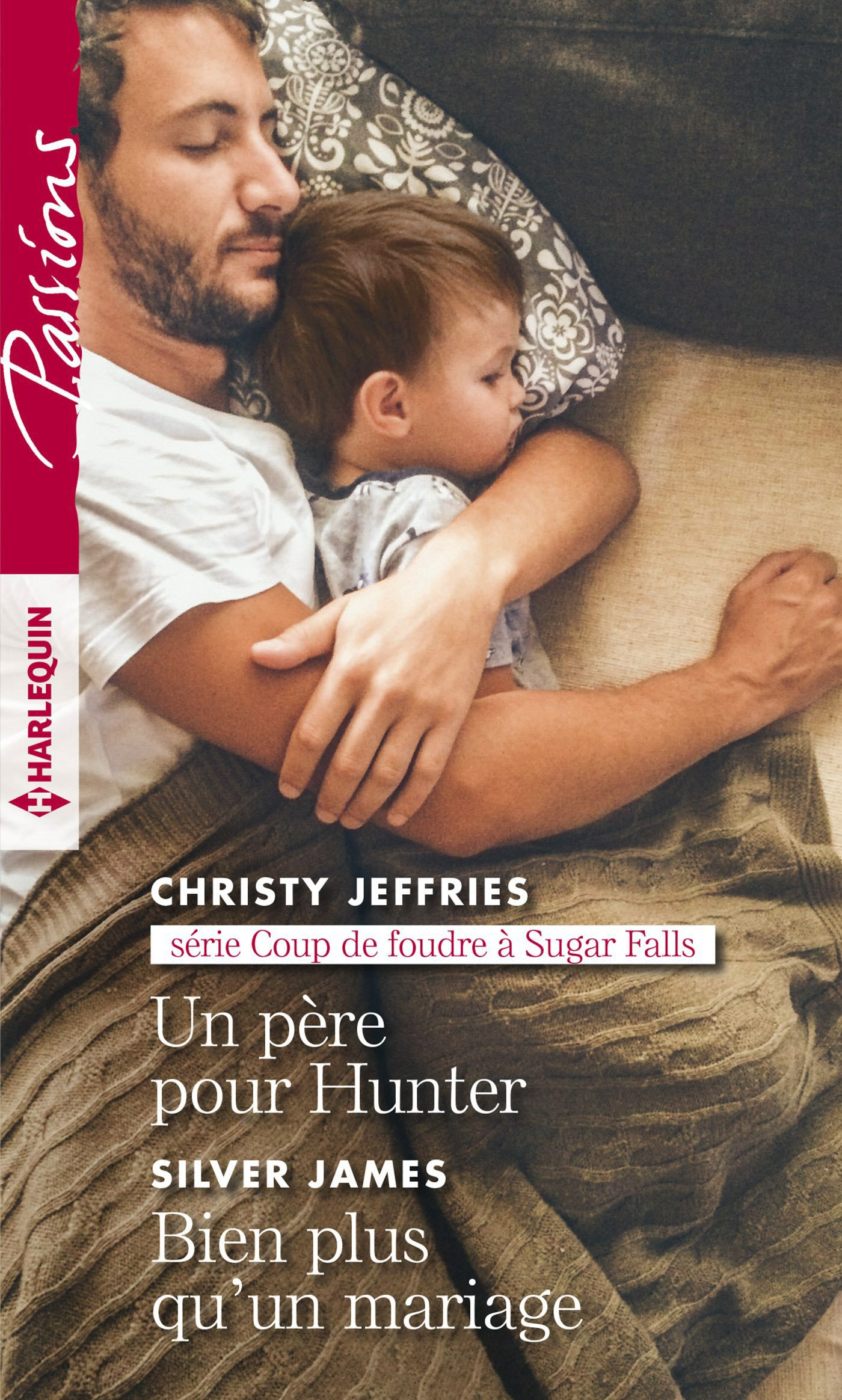 Couverture : Christy Jeffries, Un père pour Hunter, Harlequin