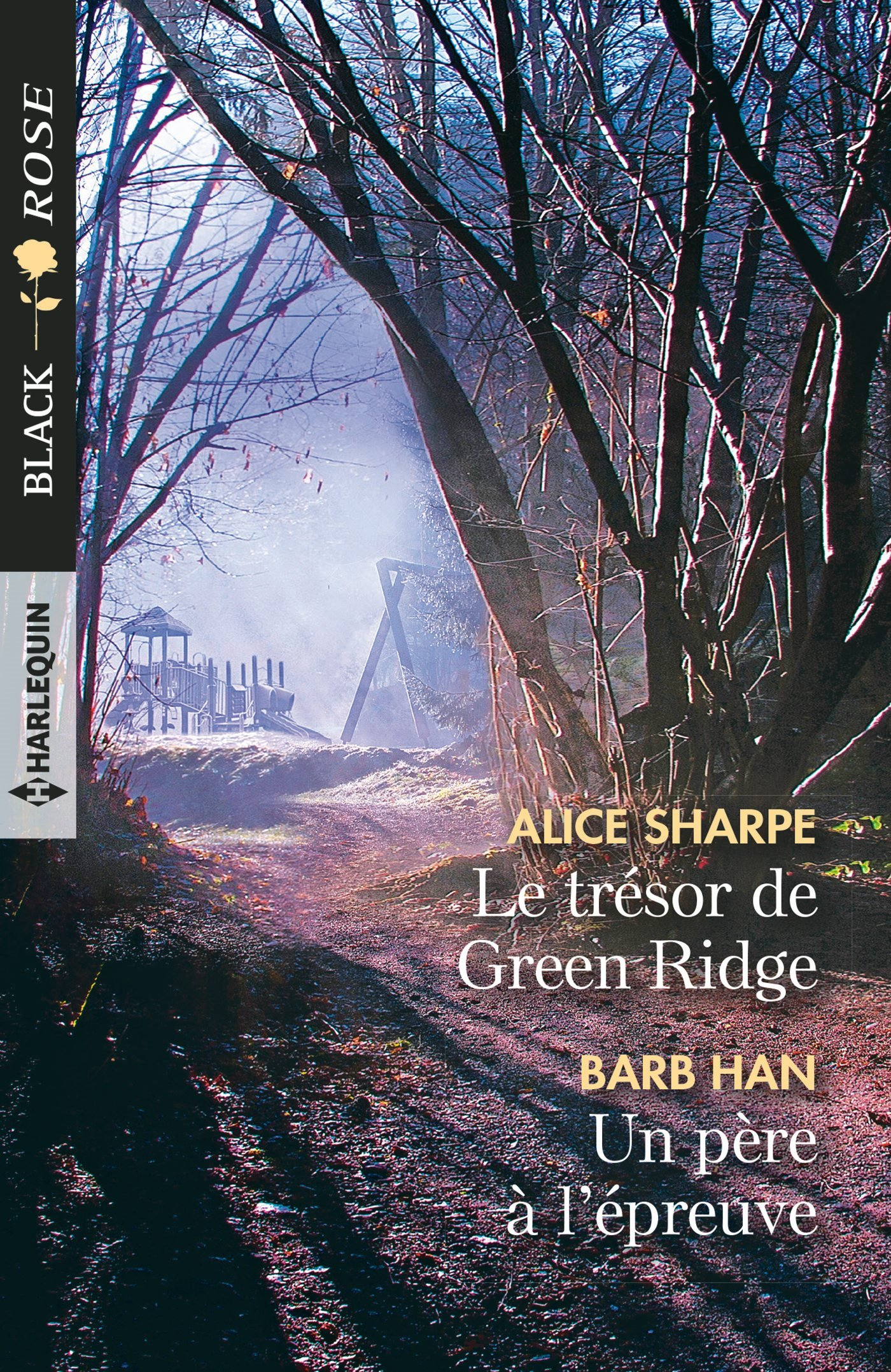 Couverture : Alice Sharpe, Le trésor de Green Ridge, Harlequin
