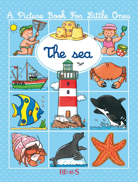 A picture book for little ones - The sea