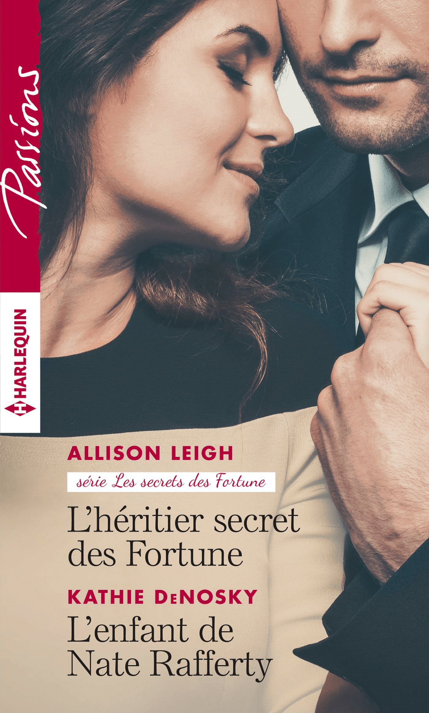 Couverture : Allison Leigh, L'héritier secret des Fortune, Harlequin