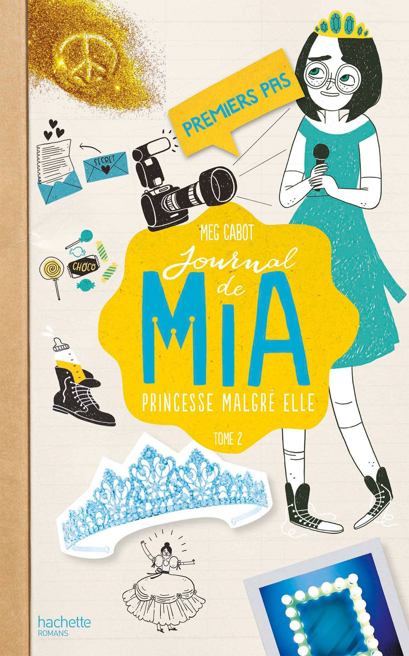 Couverture : Meg Cabot Journal de Mia