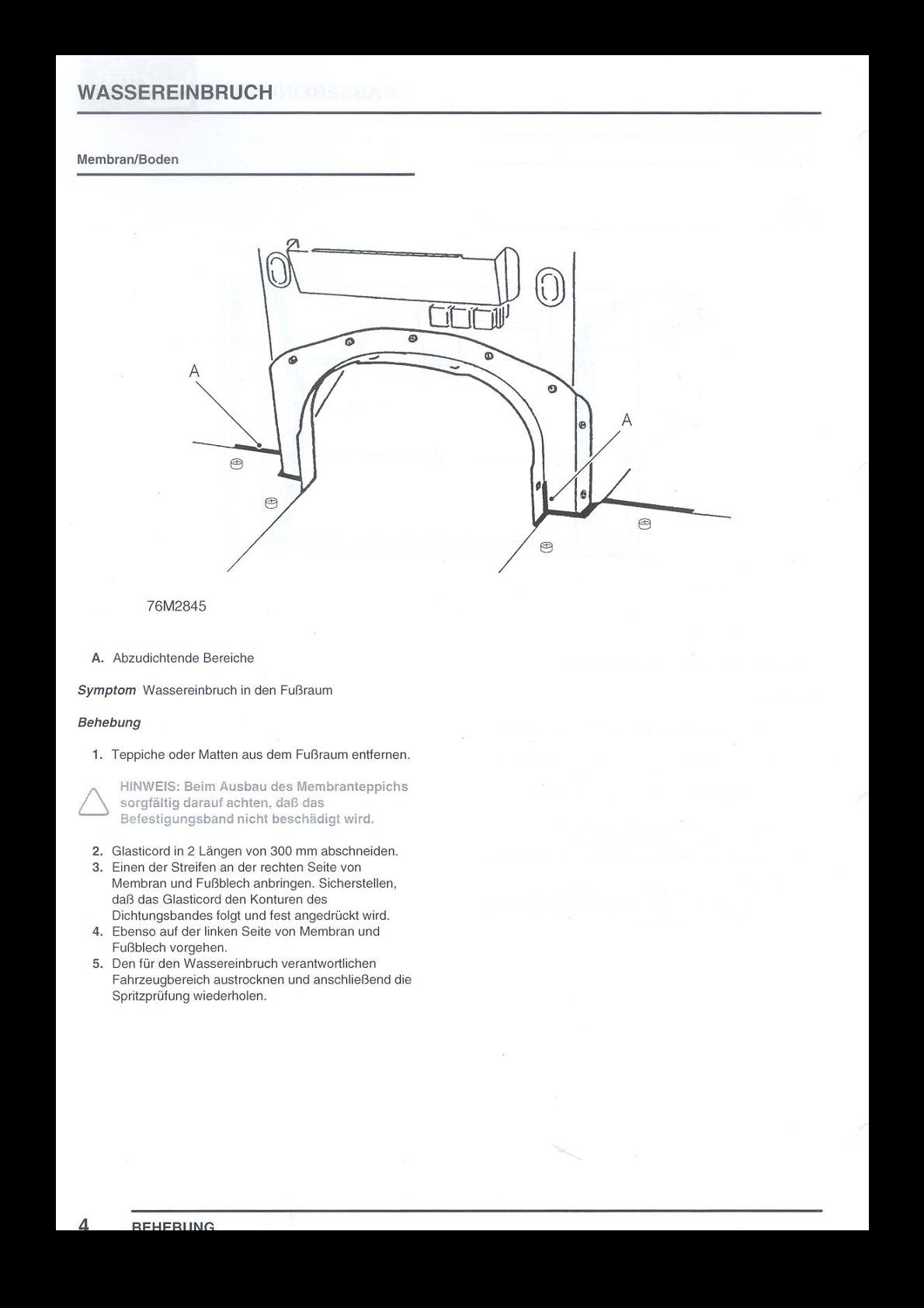 Land-rover Defender Water Ingress Manual - Stadtwerke Detmold Gmbh