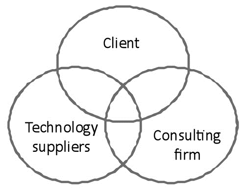 : Figure 1: The business consulting ecosystem