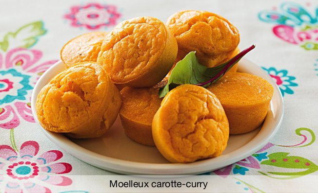 Moelleux carotte-curry