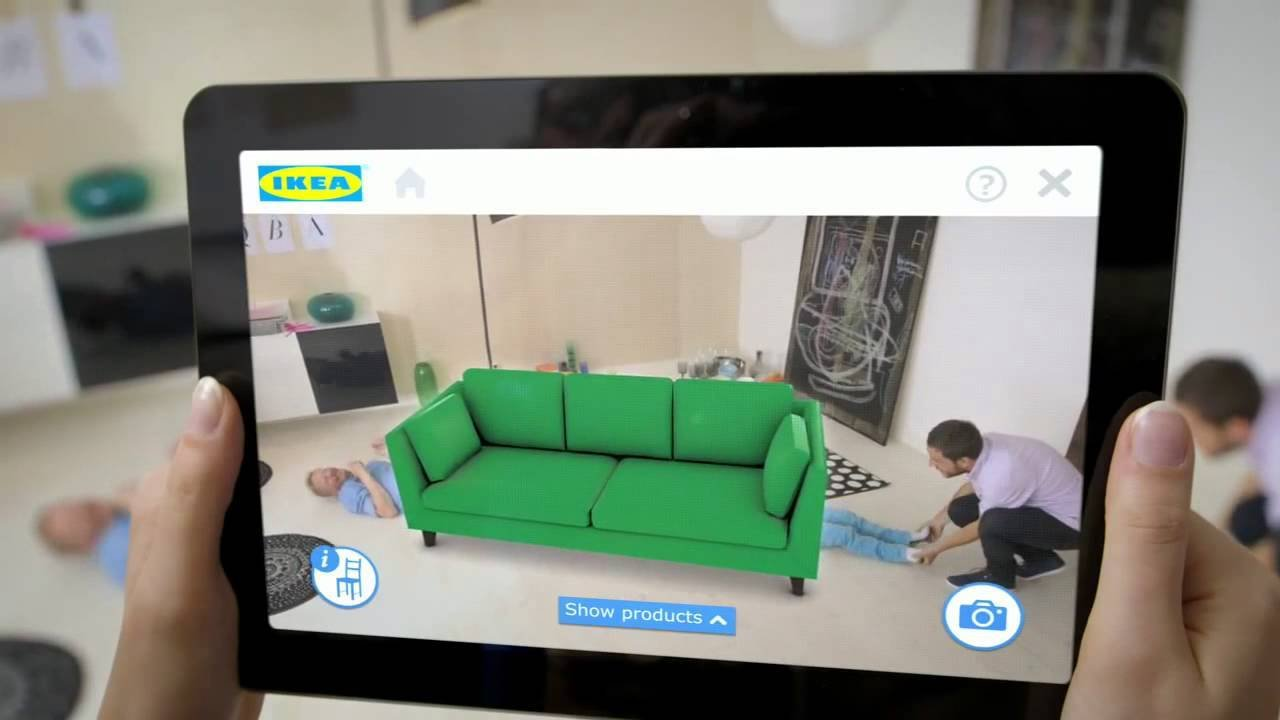 Application commerciale d'IKEA